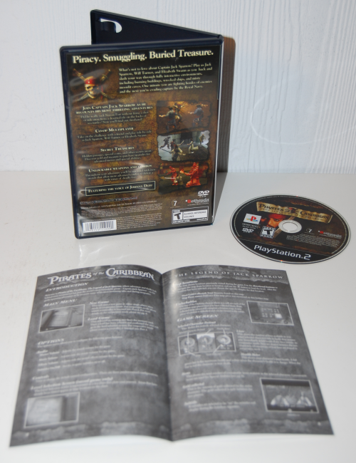 Pirates of the caribbean ps2 x