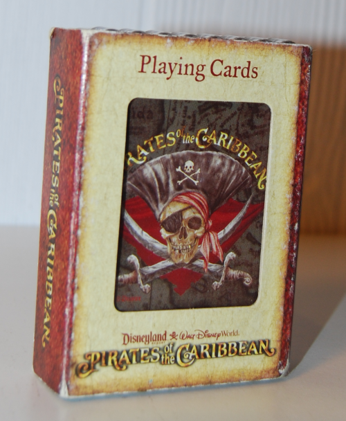 Pirates of the caribbean playing cards