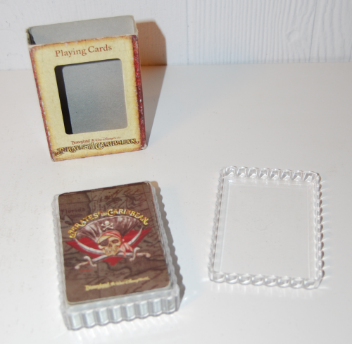 Pirates of the caribbean playing cards 1