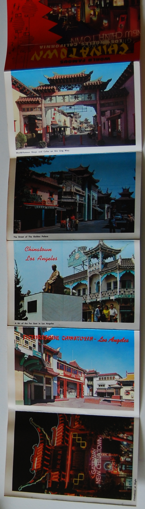 Vintage chinatown ephemera x