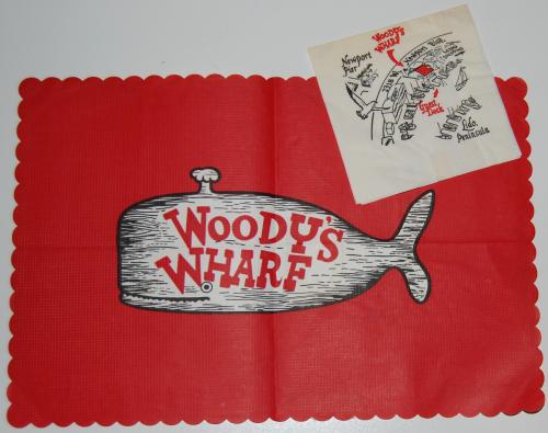 Vintage woody's wharf