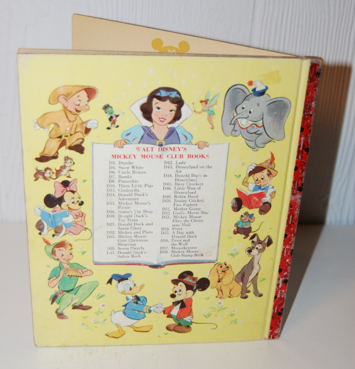Mickey mouse & the missing mouseketeers book x