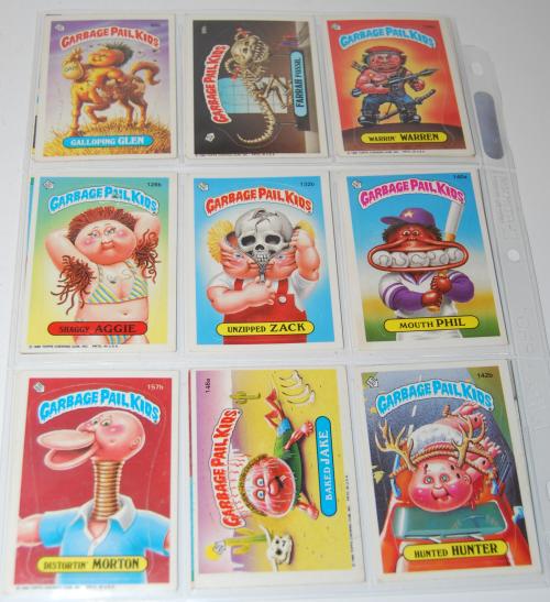 Garbage pail kids cards 1