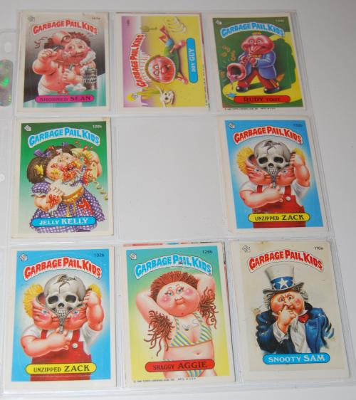 Garbage pail kids cards 2