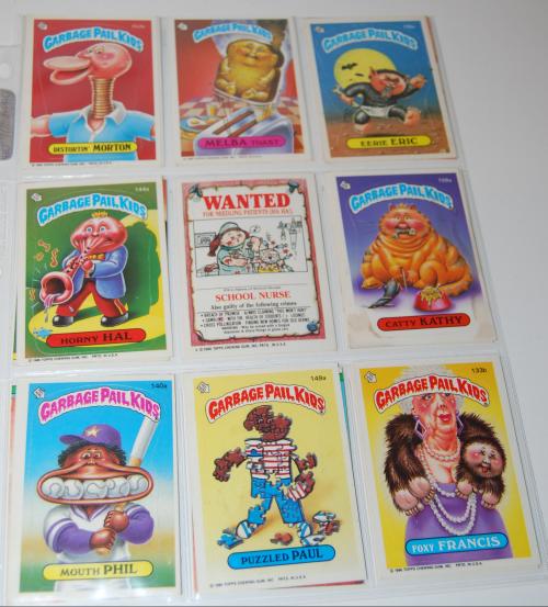 Garbage pail kids cards 7