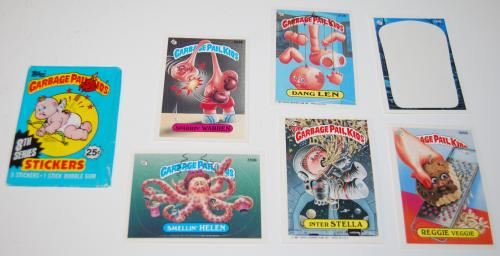 Garbage pail kids cards 1987 1