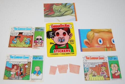 Garbage pail kids cards 1988 xx