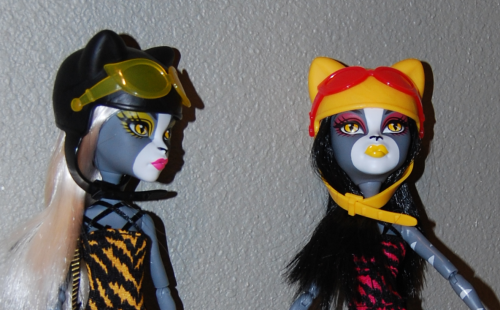 Monster high wheelin werecats 14