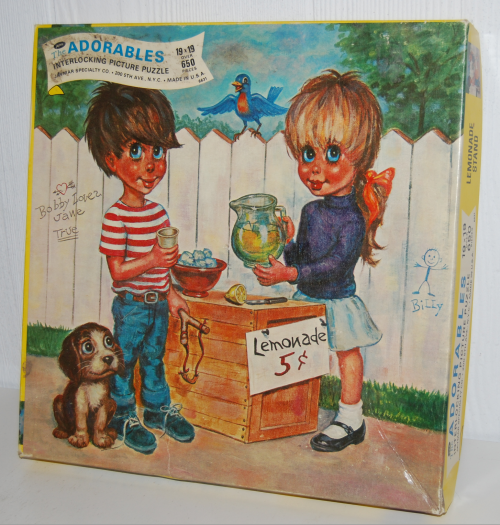 The adorables vintage puzzle