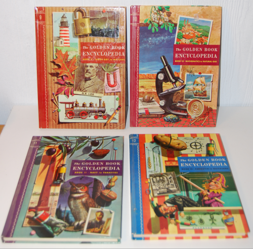 The golden book picture encyclopedia set 5