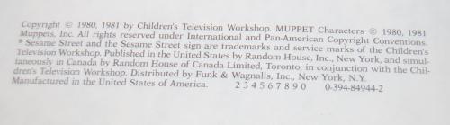 Sesame street treasury set x