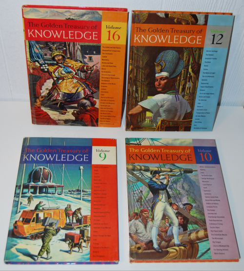 The golden treasury of knowledge 2