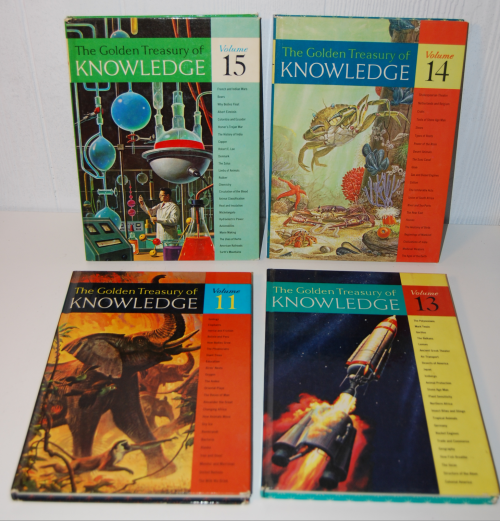 The golden treasury of knowledge 3