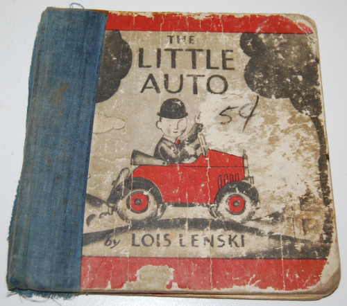 The little auto vintage book