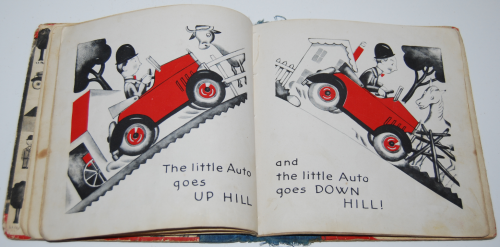 The little auto vintage book 6