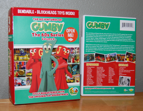Gumby 60s dvd set volume 2 blockheads
