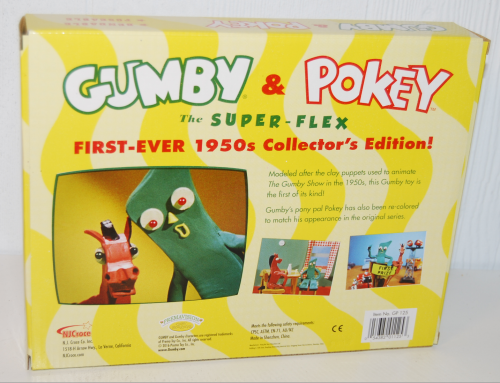 Gumby the super flex 50s collector's edition bendy set 4
