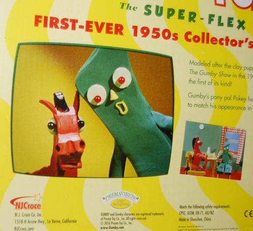 Gumby the super flex 50s collector's edition bendy set 5