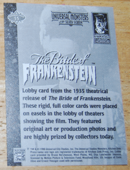 Universal monsters cards 5