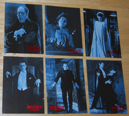 Universal monsters of thr silver screen cards