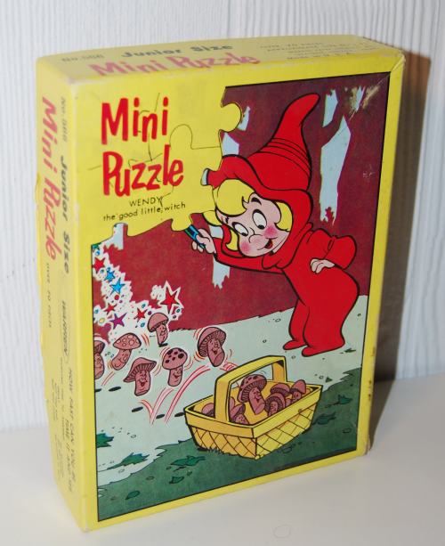 Vintage wendy witch mini puzzle