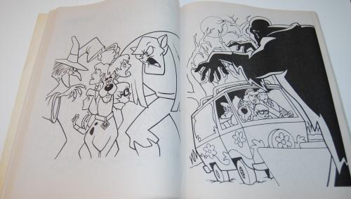 Scooby doo shagadelic coloring book 8
