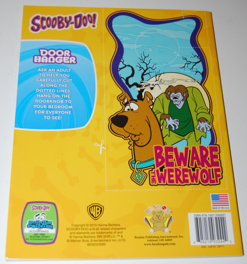 Scooby doo jumbo coloring book x