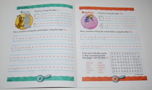 Scooby doo printing practice book 2