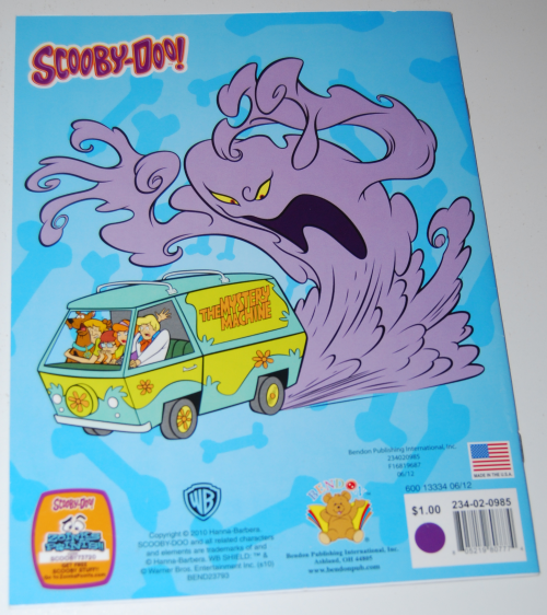 Scooby doo picture find book x