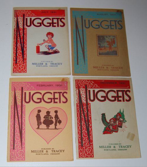 Nuggets 1931 funeral ephemera