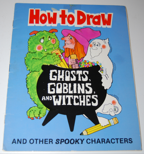 How to draw ghosts goblins & witches