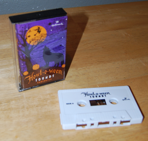 Hallmark halloween sounds cassette x