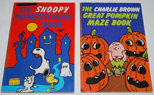 Charlie brown halloween books