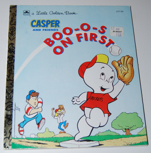 Little golden book casper