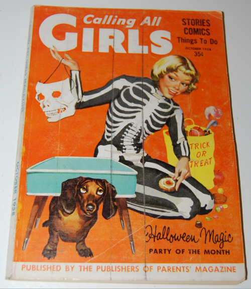 Calling all girls october 1958