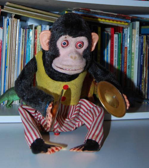 Jolly chimp toy x