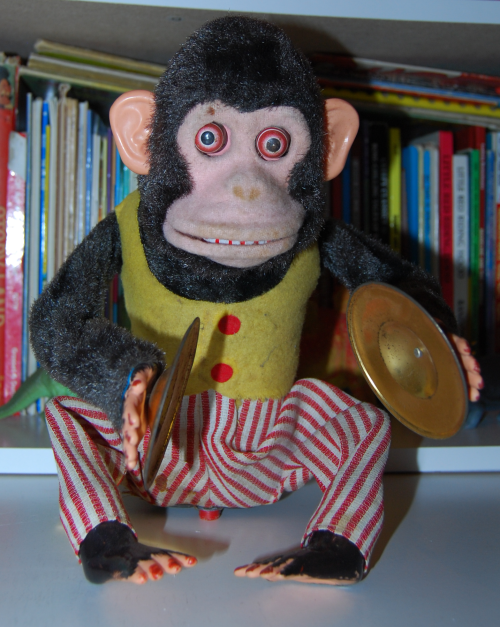 Jolly chimp toy 1