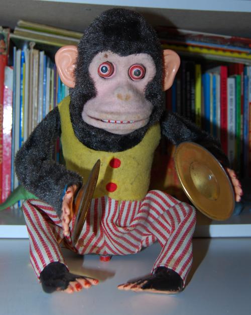 Jolly chimp toy 1