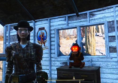 Fallout jolly chimp