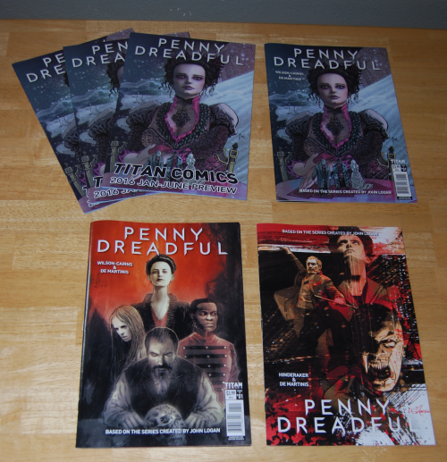 Penny dreadful comic books