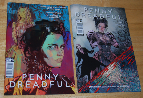 Penny dreadful comic books (2)