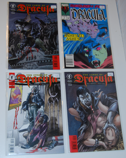 The curse of dracula comic books