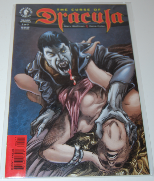 The curse of dracula comic book