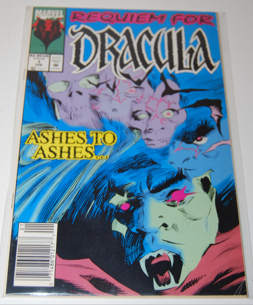 Requiem for dracula comic book