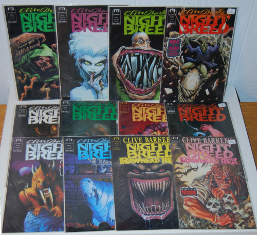 Clive barker night breed comic books