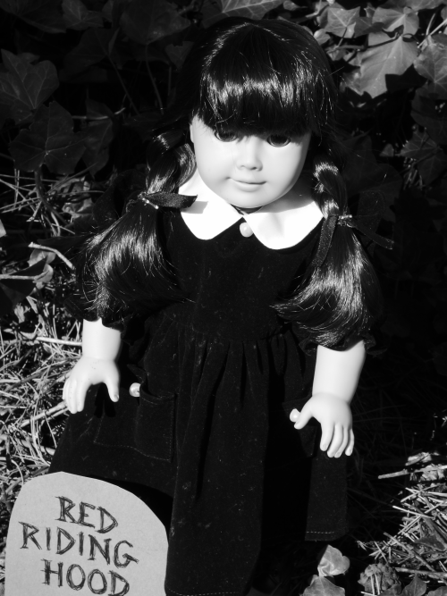Wednesday addams doll graveyard 15