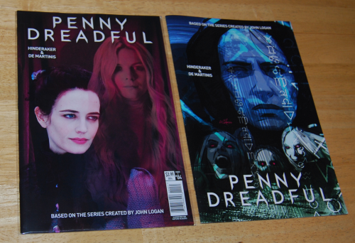 Penny dreadful comic book alt covers