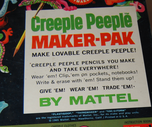 Thingmaker creeple people maker pak 1