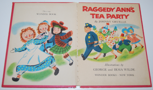 Raggedy ann's tea party 1