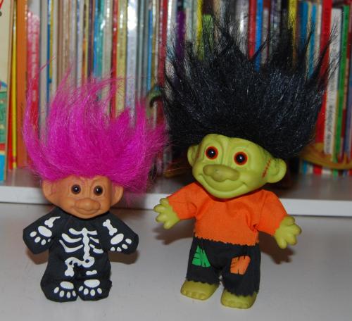 Halloween troll lot